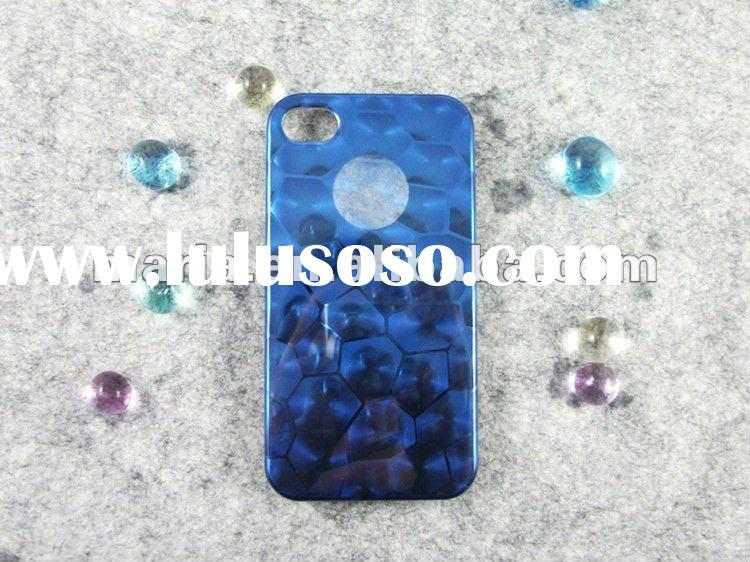 super light phone case for Apple 4g 4S, Lithium alloy case/cover for iPhone 4S 4G , 3D Water Cube Ca