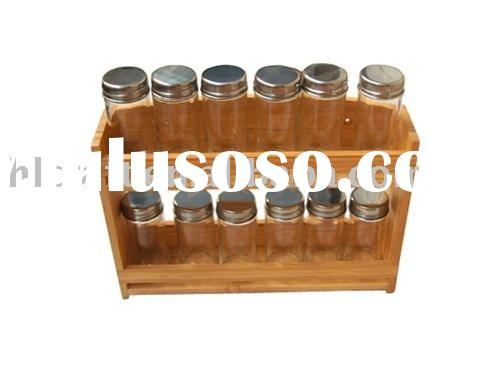 2010 Bamboo spice rack