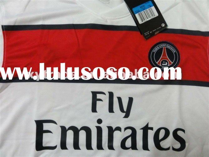 2011-12 White Thailand Quality Paris St German Soccer football shirt/Jersey