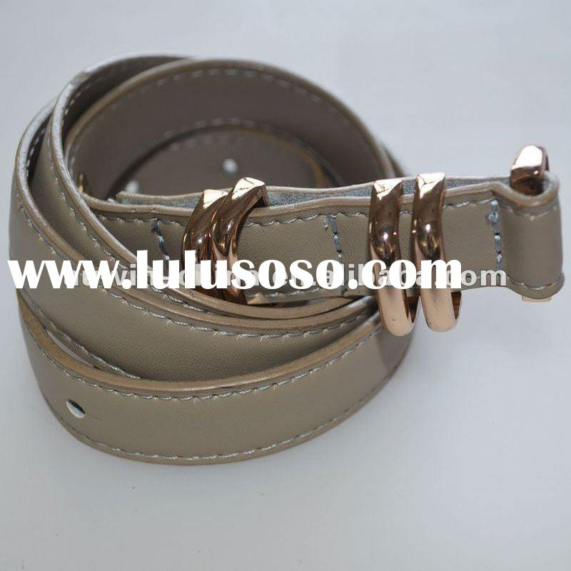 2012 Fashion Women Casual Leather Belt Factory