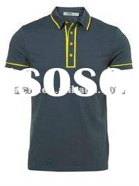 2012!!! New Summer Fashion High Quality plus size 100%Cotton mens polo shirt
