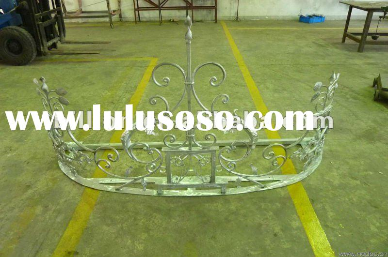 2012 hot sale china manufacturer custom hand forged iron awning frame for window,door