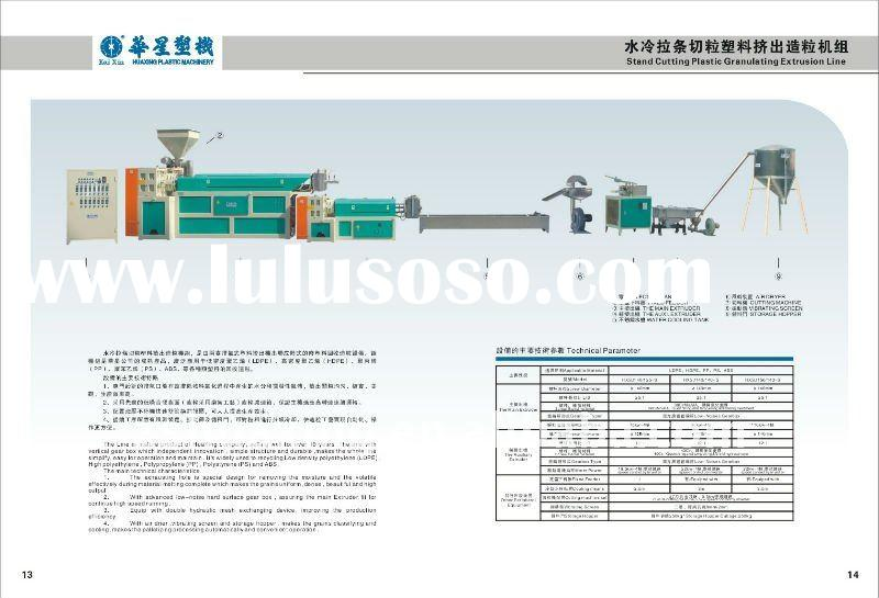 2012 new PP PE ABS PS Waste plastic extruder