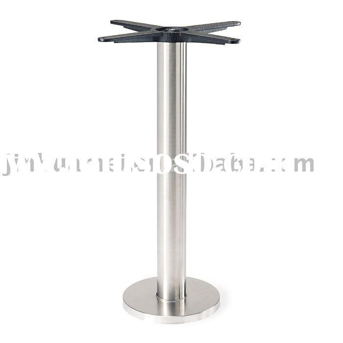 347-21SS Fixed Floor Stainless Steel Table Base