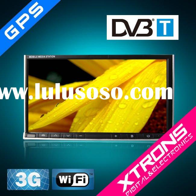 7 inch double din car PC player built in 3G wifi,DVB-T