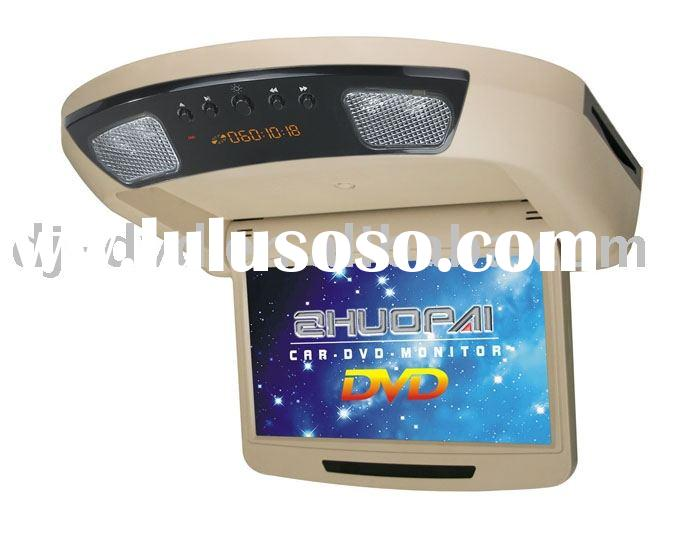 9 inch car automatic roof mout DVD player Automatic flip down DVD player//Car TV/DJ-9018D