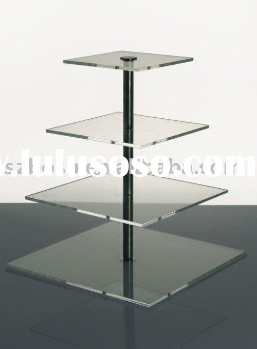 Acrylic Cupcake Stand,4 Tier Cupcake Holder,Acrylic Display Stand