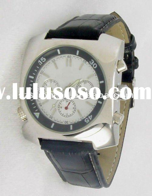 Automatic mechanical stainless steel case and genuine leather new watches 2012