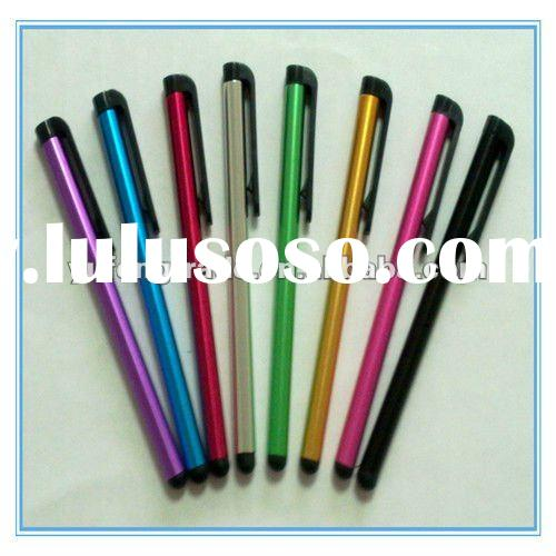 Ball-pen shape capacitive touch screen stylus for ipad and iphone