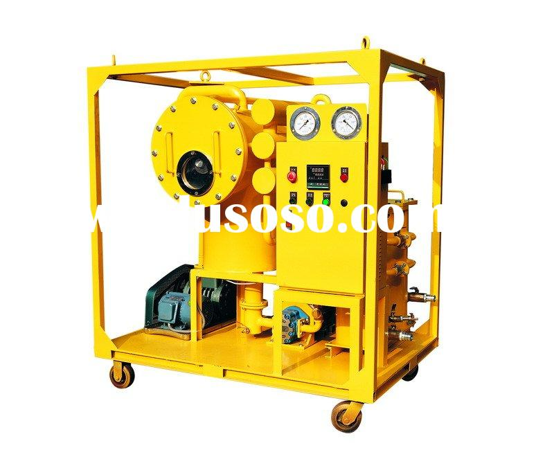 Fast Vacuum Evacuation Transformer Oil Cleaning Machine with Double-Stage System