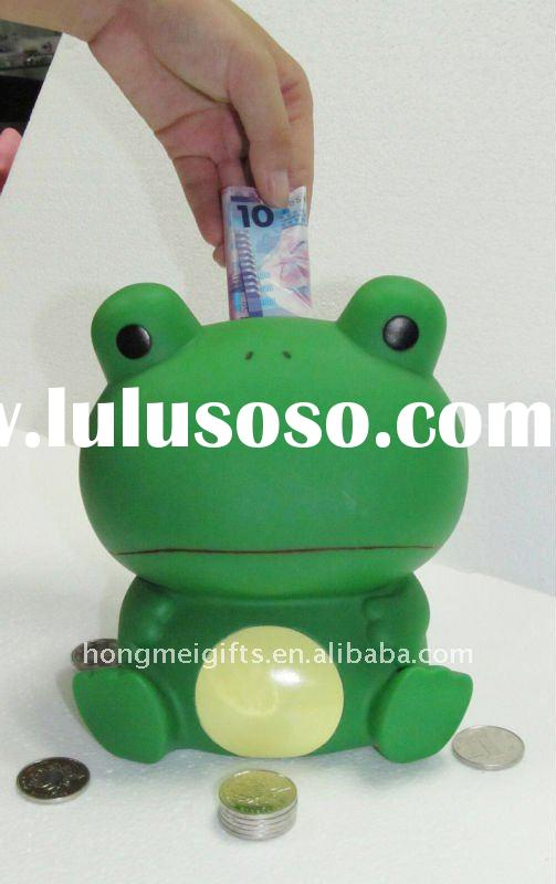Frog coin bank,saving box,money box,piggy bank,piggy bank,saving box,money saving box,money box toy