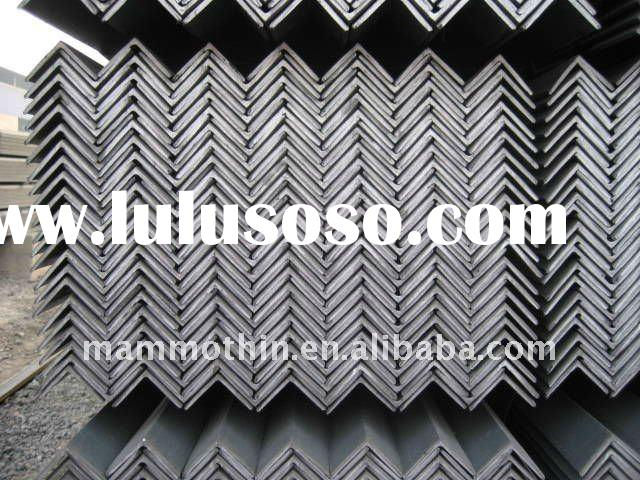 Hot rolled equal and unequal steel angle bar weight