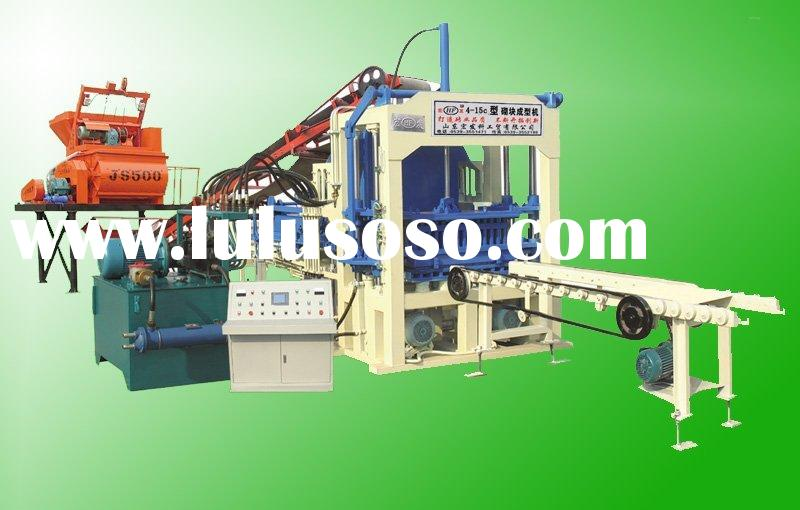 Low price QT4-15C full automatic used brick making machine for sale