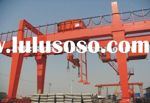 MG Model heavy duty double girder gantry crane machine