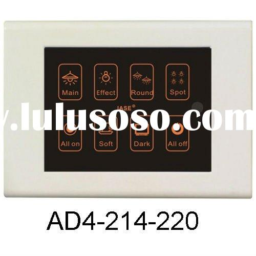 Modern Room Effect Romote Control Touch Screen Light Switch