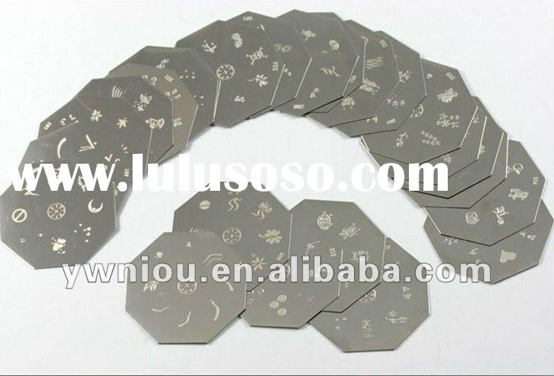 Nail art stamping Image Template Plates