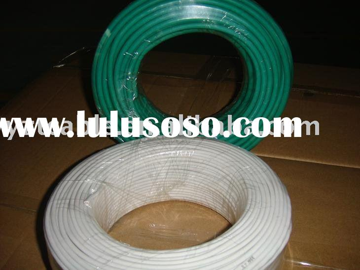 PVC flexible insulated electrical copper house wire and power cable