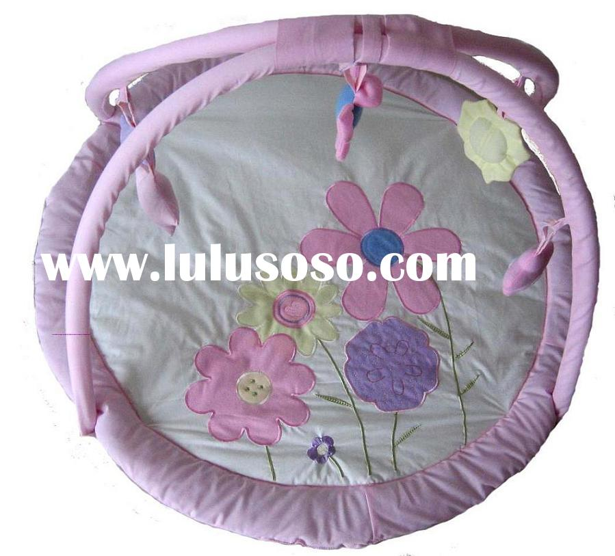 Pink Flower Baby Play Gym
