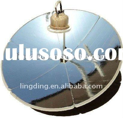 Portable Parabolic Solar Cooker/BBQ with High Efficiency