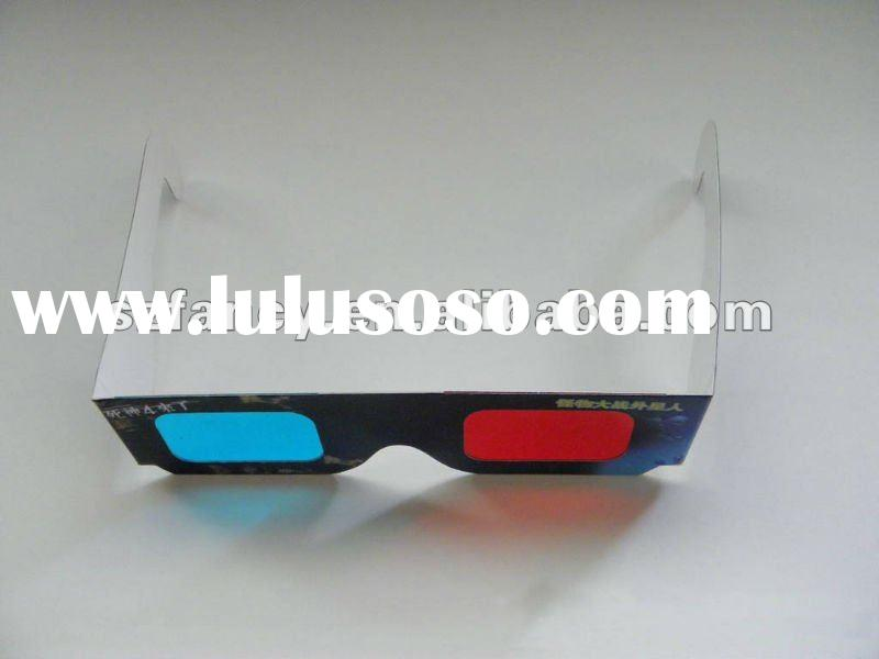 Promotion Gift Disposable Paper 3D Glasses Cheap Price