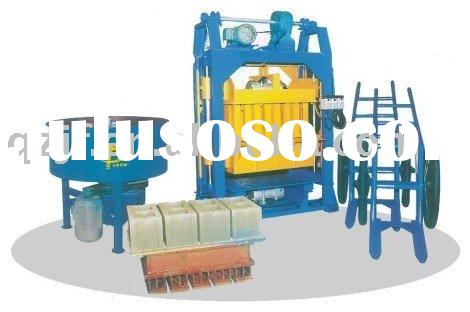 QT4-30A manual brick making machine