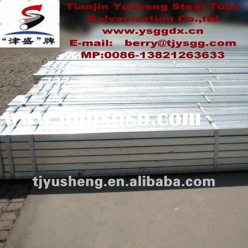 SHS and RHS ERW hot/cold rolled carbon welded steel tube