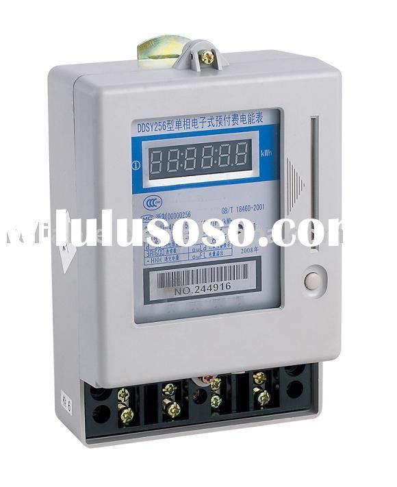 Single-Phase Electronic Prepayment Energy Meter