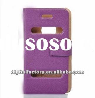 Ultra-Thin Protective PU Leather Flip-Open Case