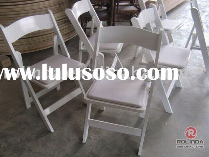 White Resin Folding Chairs for sale Price China Manufacturer Supplier