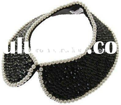 custom crystal rhinestone bling collar necklace wholesale