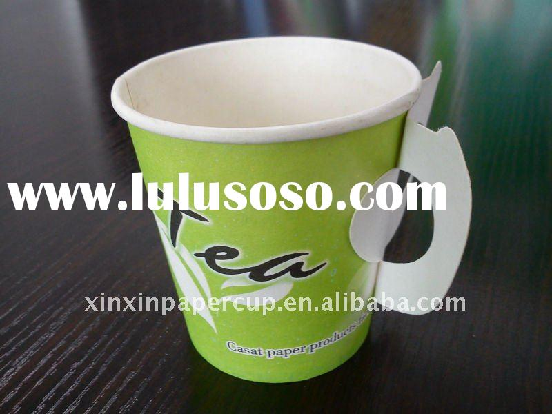 disposable coffee cups with handle