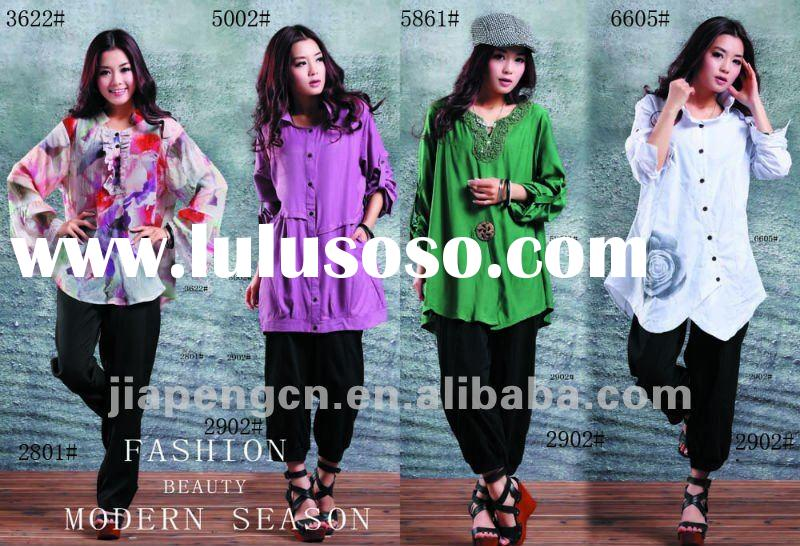 fashional women's clothes with big size