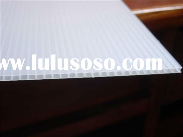 good quality,low price corrugated clear plastic