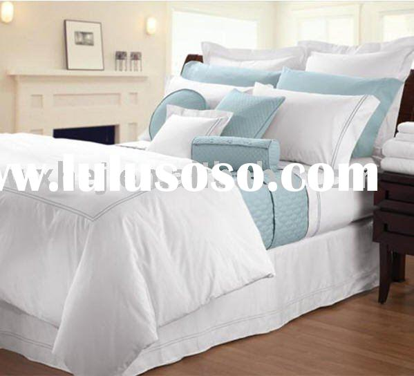 hotel percale sateen cotton duvet cover
