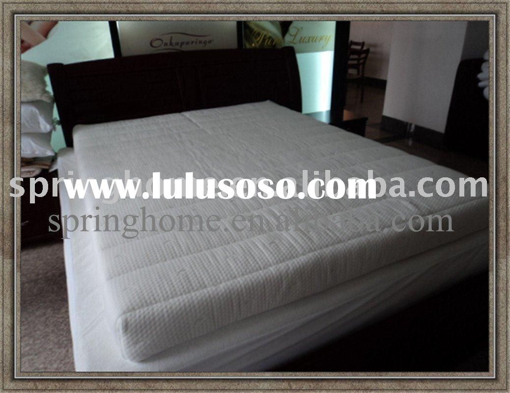 jacquard knitted fabric quilted foam mattress cover