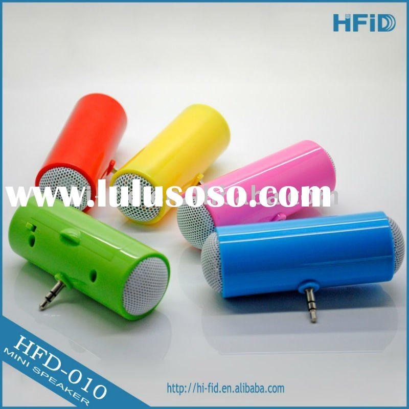 mini gift promotional speaker for ipod with small and exquisite design less than USD 1.5