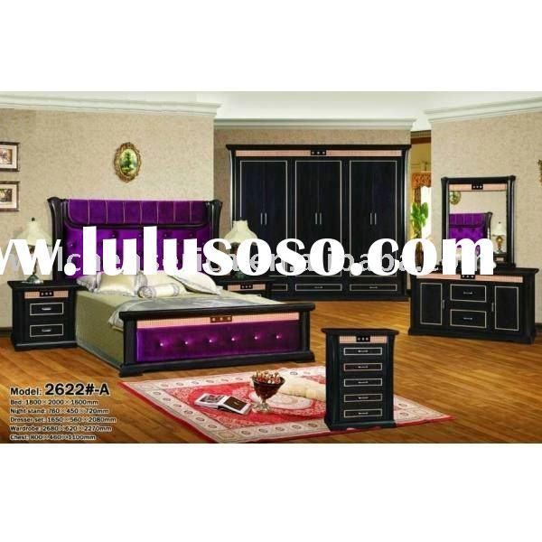 modern luxury bedroom furniture set