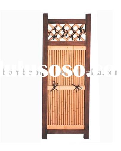 natural indoor ornamental bamboo cane screens