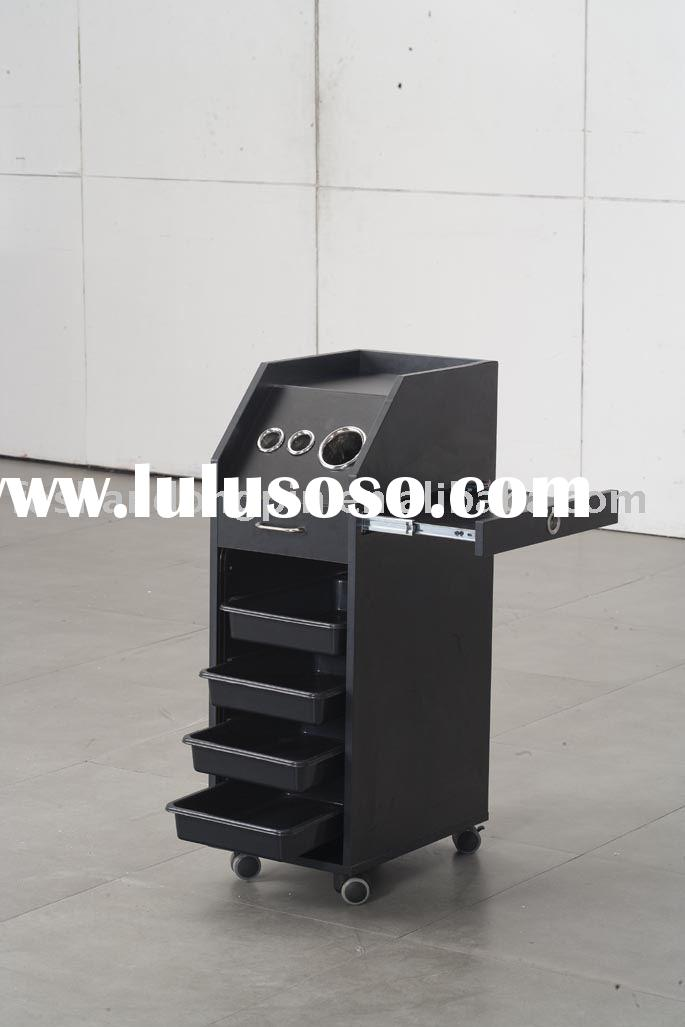 salon cabinet trolley salon furniture barber chair