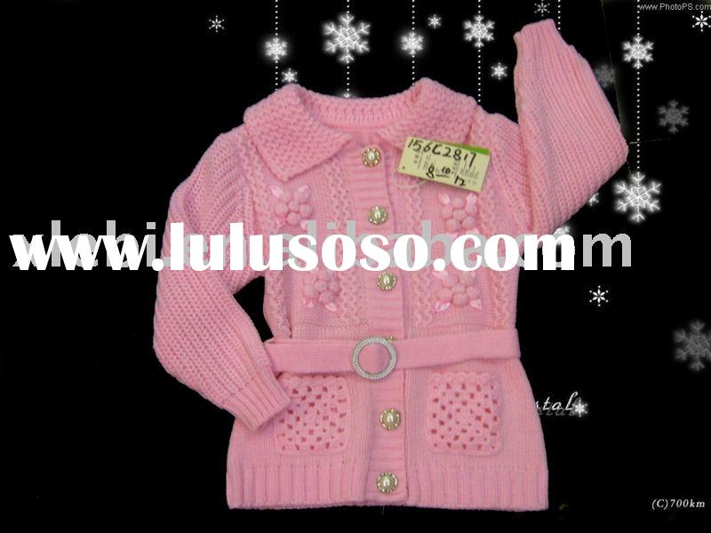 traditional design sweater,children sweater,child wear,kids clothes for girl's coat