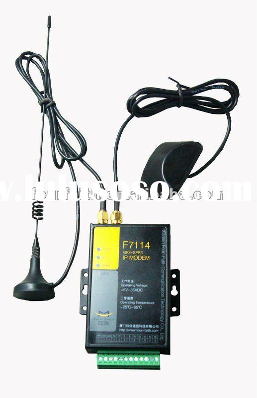 wireless industrial gps gprs modem rs232 RS485 for gps tracking and vehicle tracking(F7114P)