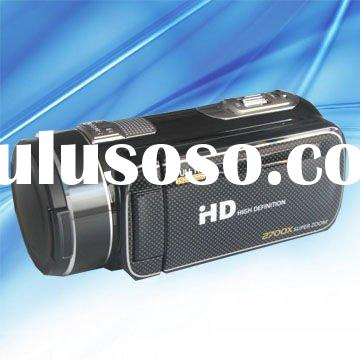"1080P HD 16MP 3.0"" touch 2700X zoom 23X optical zoom digital camera from stepfly (SF-HDV2312)"