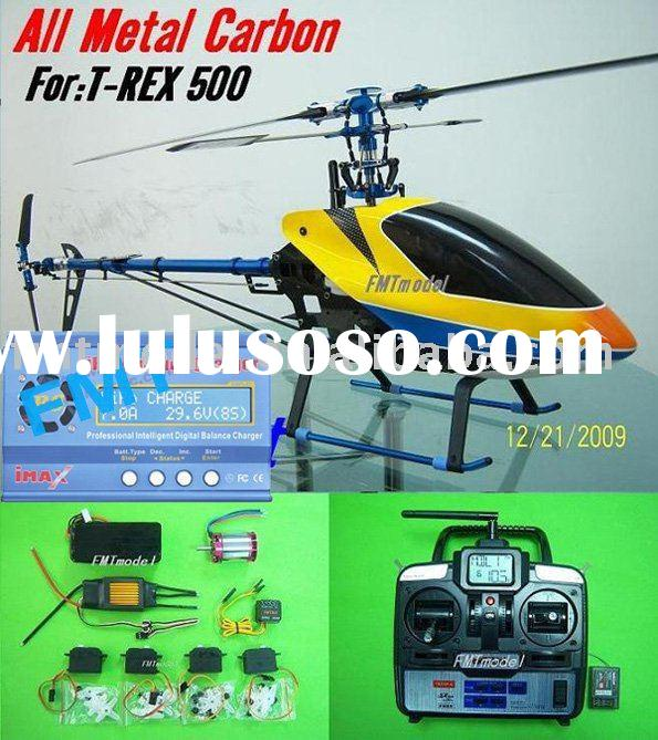 500CF-R2 Metal carbon 6CH 2.4G Rc Helicopter RTF For ALIGN TREX T-REX 500