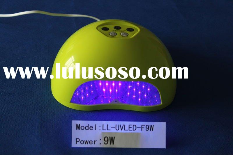 9watt LED nail gel curing lamp