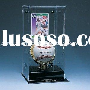 Acrylic Baseball & Card Display
