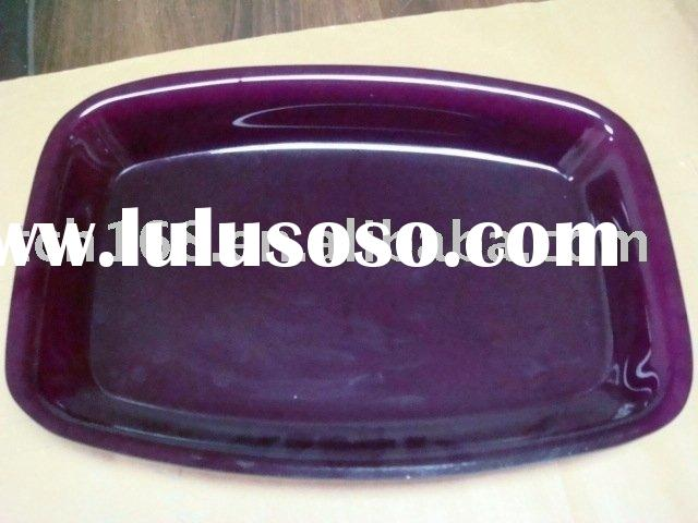Acrylic plate (purple)