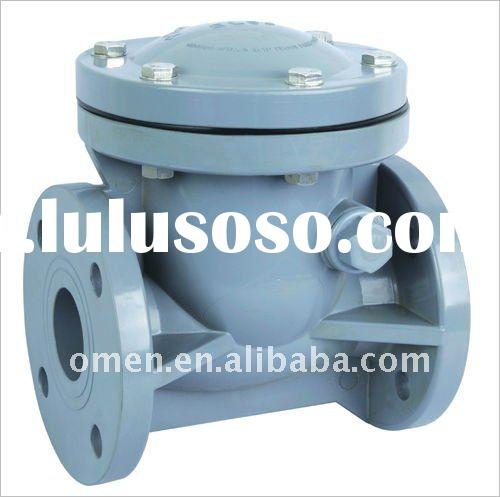 Cpvc check valve pvc swing wafer type for
