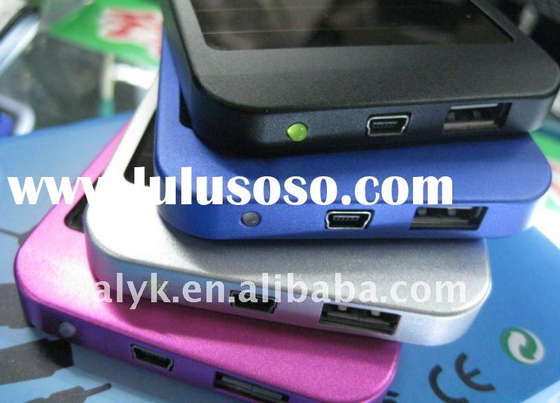 Christmas discount, cheapest solar charger, high capacity,1500mah battery