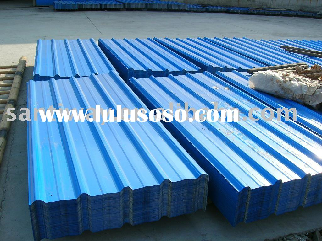 Color coated metal roof sheet