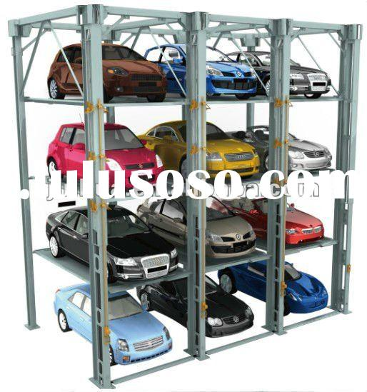 Dependent Car Parking Lift And Stacker Buliding FMP